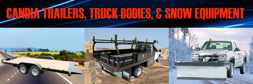 candia trailers equipment trailer snowplows nh