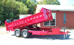 dump equipment trailers